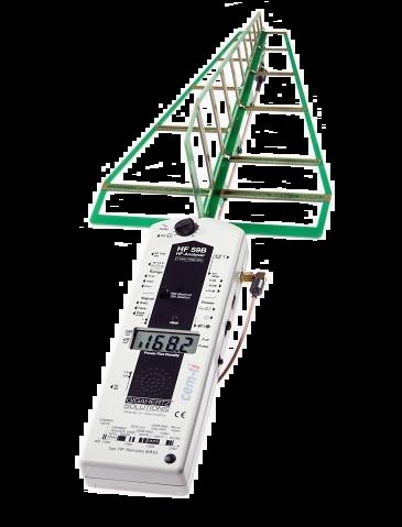 Gigahertz HF59B EM-veld meter