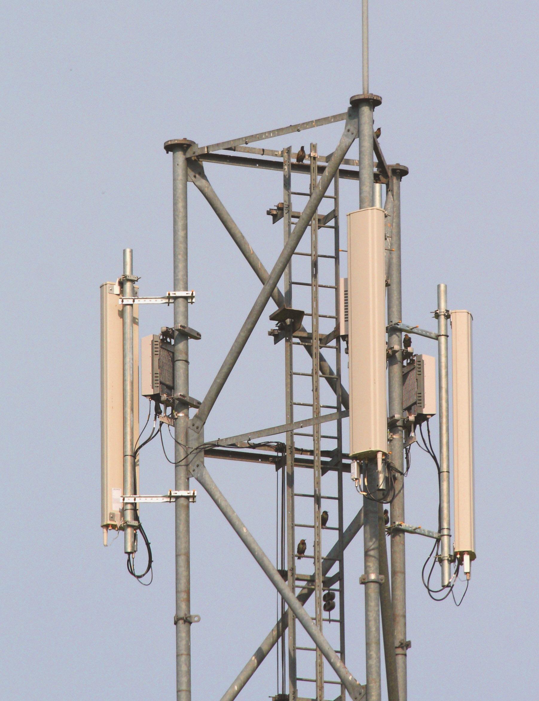3G/4G/5G zendmasten